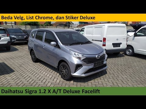 Daihatsu Sigra 1.2 X A/T Deluxe Faclift [B400] review - Indonesia