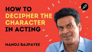 How to Decipher the Character in Acting | Manoj Bajpayee Interview | Diorama IFF