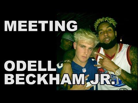 MEETING ODELL BECKHAM JR.