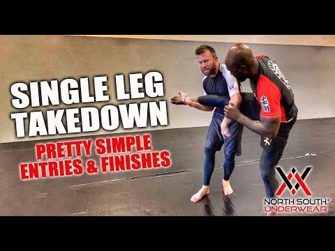 Wrestling For Jiu-Jitsu | Pretty Simple Single Leg Takedown Entries & Finishes
