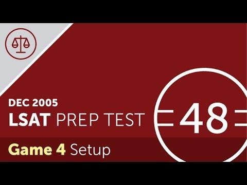 Lsat prep test 48 logic game 4 december 2005 youtube lsat prep test 48 logic game 4 december 2005 malvernweather Images