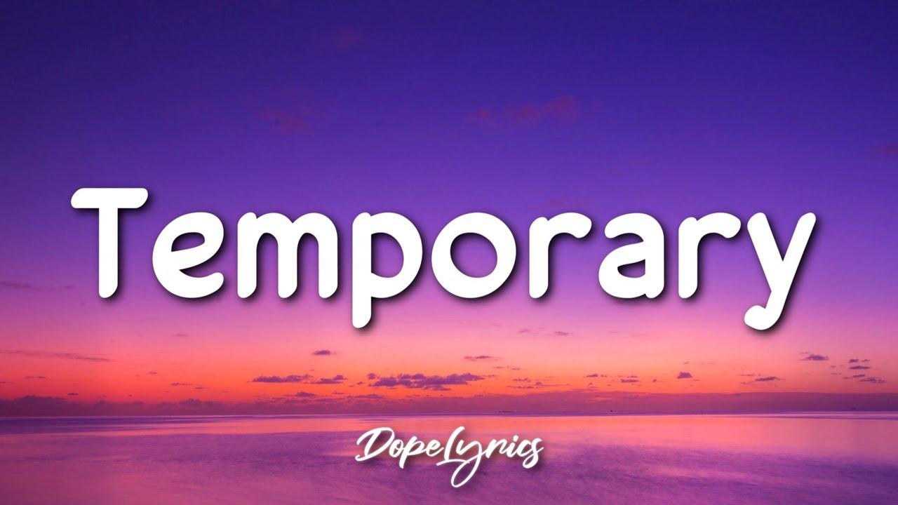 Download Dylan Wild - Temporary (Lyrics) 🎵