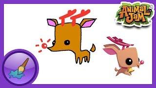 Sketch Jam - Pet Reindeer!