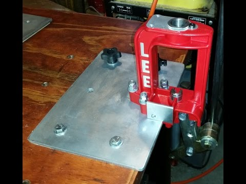 Quick Change Reloading Bench Plate