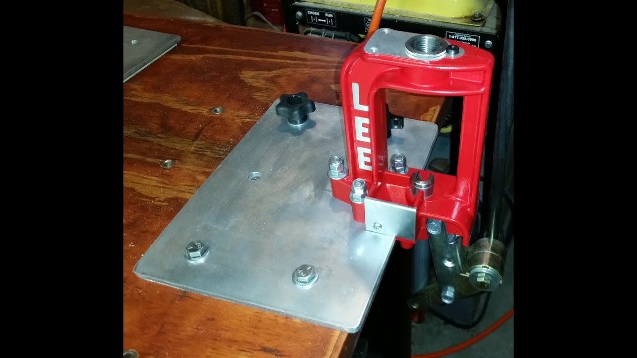 Quick Change Reloading Bench Plate Youtube