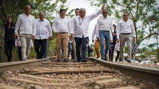 Inicia construcción del Tren Maya