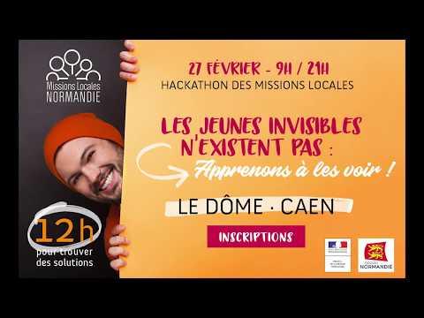 Hackathon : Les Jeunes Invisibles - ARML Normandie