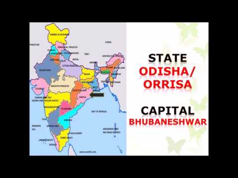 29 Indian States with capitals and location on the map   Social Lesson Learn in easy way