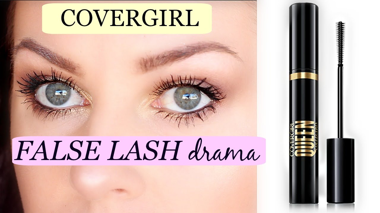 e36a93afd98 NEW! COVERGIRL FALSE LASH DRAMA MASCARA // Review + Demo - YouTube