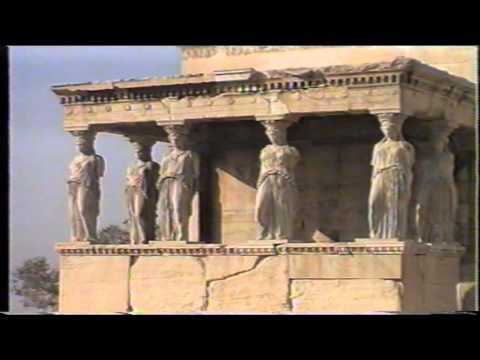 Athens.The Acropolis and Parthenon of Athens. Greece