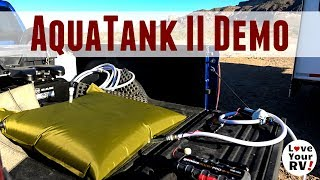 Aquatank II Water Storage Bladder - Unpack and Demo