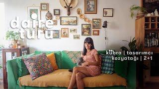 Daire Turu: Kübra'nın Kozyatağı'ndaki 2+1 Evi