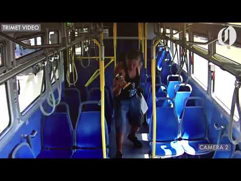Carson - TriMet passenger chases driver with drill