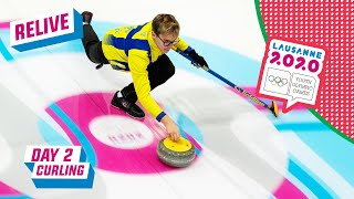 RELIVE - Curling - Sweden vs Italy - Round Robin Mixed Team - Day 2 | Lausanne 2020
