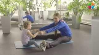 Комплекс упражнений вместе с ребенком