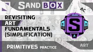 (Human Simplification) Session 59 - Creative Sandbox [ENG] (Revisiting Art Fundamentals)
