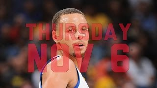 NBA Daily Show: Nov. 6th – The Starters
