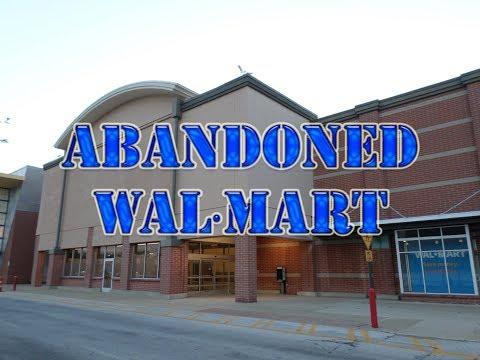 ABANDONED Wal-Mart At Severance Town Center At Night | Cleveland Heights