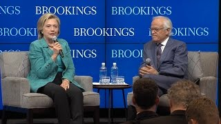 Hillary Clinton addresses the Iran nuclear deal