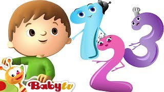 One, Two Buckle My Shoe - Learn to Count with Charlie & the Numbers | BabyTV