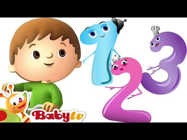 One, Two Buckle My Shoe | Count with Charlie & the Numbers | BabyTV