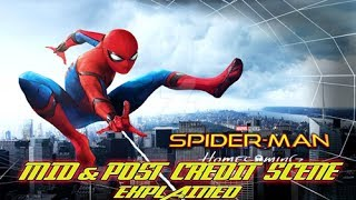Spider-Man: Homecoming - MID/POST CREDIT SCENES EXPLAINED