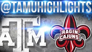 Texas A&M Highlights vs Louisiana Lafayette 09-16-2017 ᴴᴰ