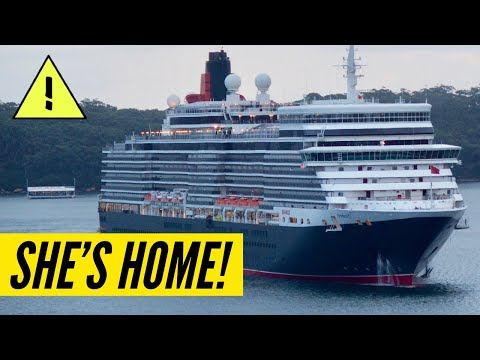 Queen Elizabeth HAS ARRIVED HOME! Cunard Queen Elizabeth Arrives In Southampton, UK!