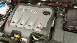 vw passat b7 2011 2014 tdi oil filter change replacement