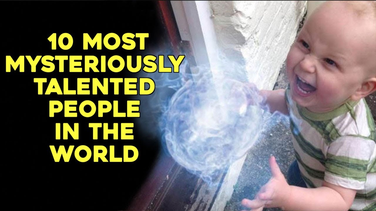 10 Most Mysteriously Talented People In The World - YouTube