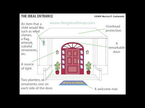 How To Create An Ideal Feng Shui Entrance Door Youtube