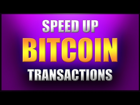How to Speed Up Your Bitcoin Transactions for Free!