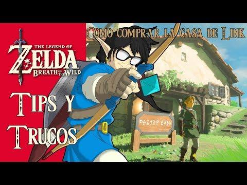 The Legend of Zelda: Breath of the Wild | Tips y Trucos| Como comprar la casa de Link