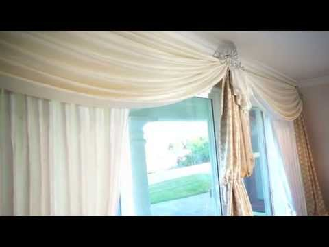 Patio Door Curtains: Elegant Window Treatments for Sliding Glass Doors | Galaxy-Design Video #110