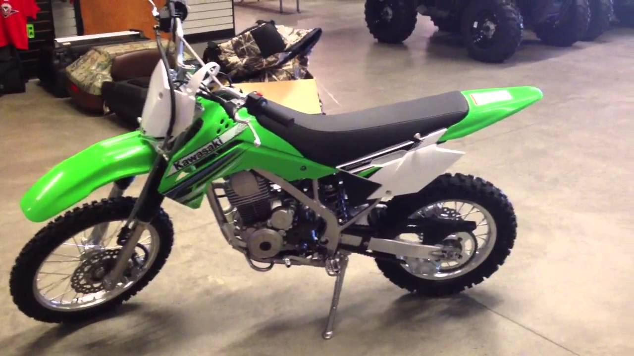 Kawasaki Klx 140l Lime Green