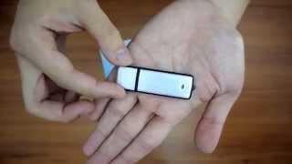 Spy USB Voice Recorder +8 Gb Memory Stick in One - Audio Digital Sound Voice Recorder - Spy Gadget