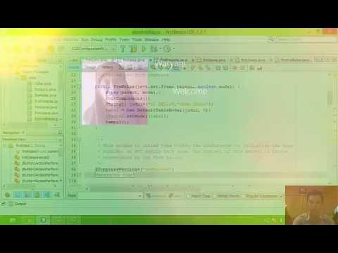 Membuat Aplikasi Sederhana Menggunakan Java Netbeans