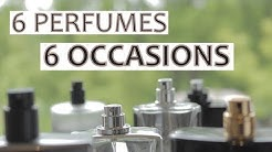 6 Perfumes for 6 Occasions //2019   |Office, Club, Date, Casino, Wedding & Formal