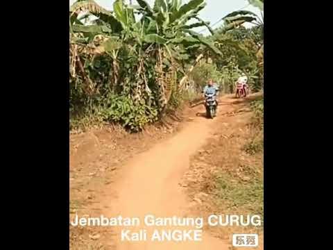 Jembatan gantung CURUG , di hulu kali Angke , menghubungkan wilayah Kota Depok dengan Kab Bogor Mp3