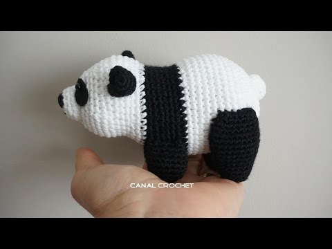Amigurumi Bigfoot Panda : [Full-Download] Little-bigfoot-panda-tutorial