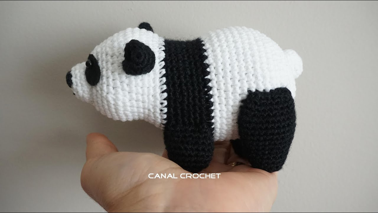Oso Panda amigurumi tutorial - YouTube
