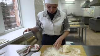 Бишбарма татарские блюда из теста и мяса видео