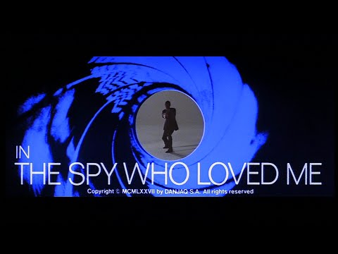 Bond and Beyond - The Spy Who Loved Me Vintage Long Trailer 1977