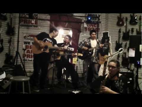 The Weight - Sam Ash Music Ontario Open Mic Night - 1/11/12