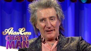 Rod Stewart   Full Interview   Alan Carr: Chatty Man