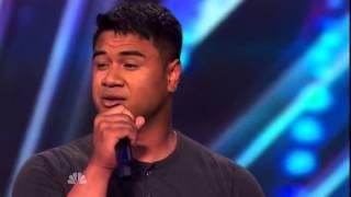 America's Got Talent 2014 - Auditions - Paul Ieti [FULL]