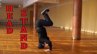 Как стоять на голове ( how to headstand)