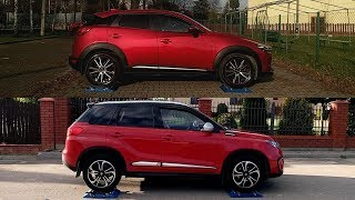 Part 2: Mazda CX-3 AWD vs Suzuki Vitara S All Grip - 4x4 test on rollers