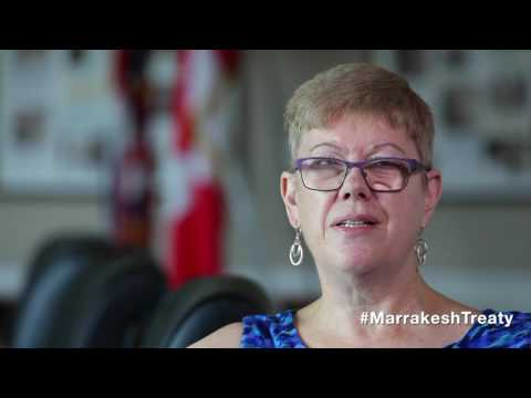 Penny Hartin, CEO, World Blind Union, on Marrakesh Treaty