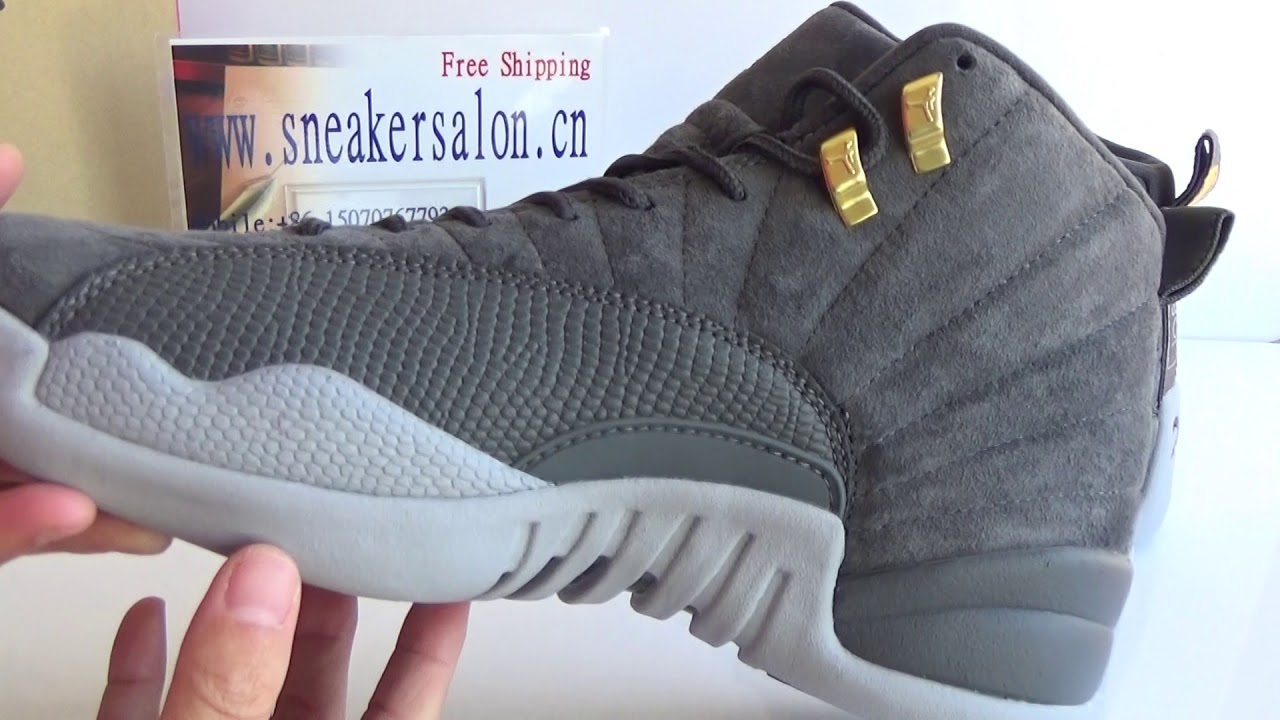 677d72d0721 Authentic Air Jordan 12 Grey Suede Review from www.sneakersalon.cn ...